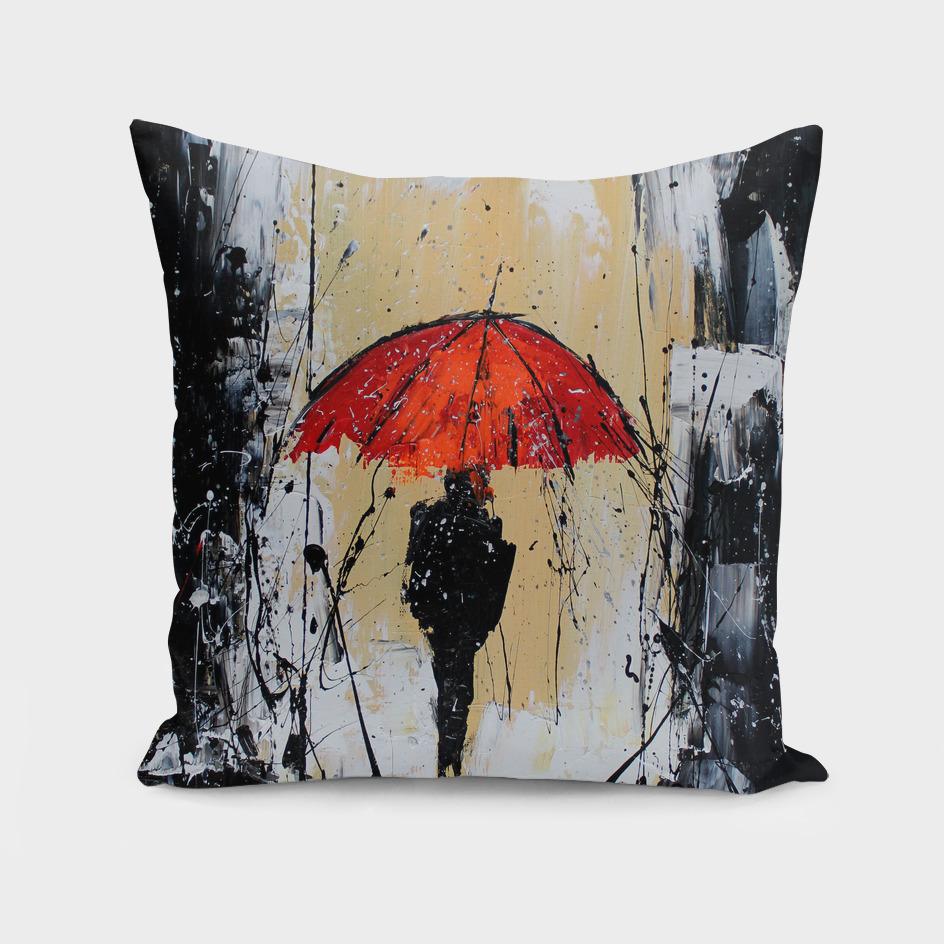 The Orange Umbrella