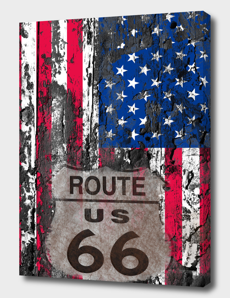 US Flag Route 66