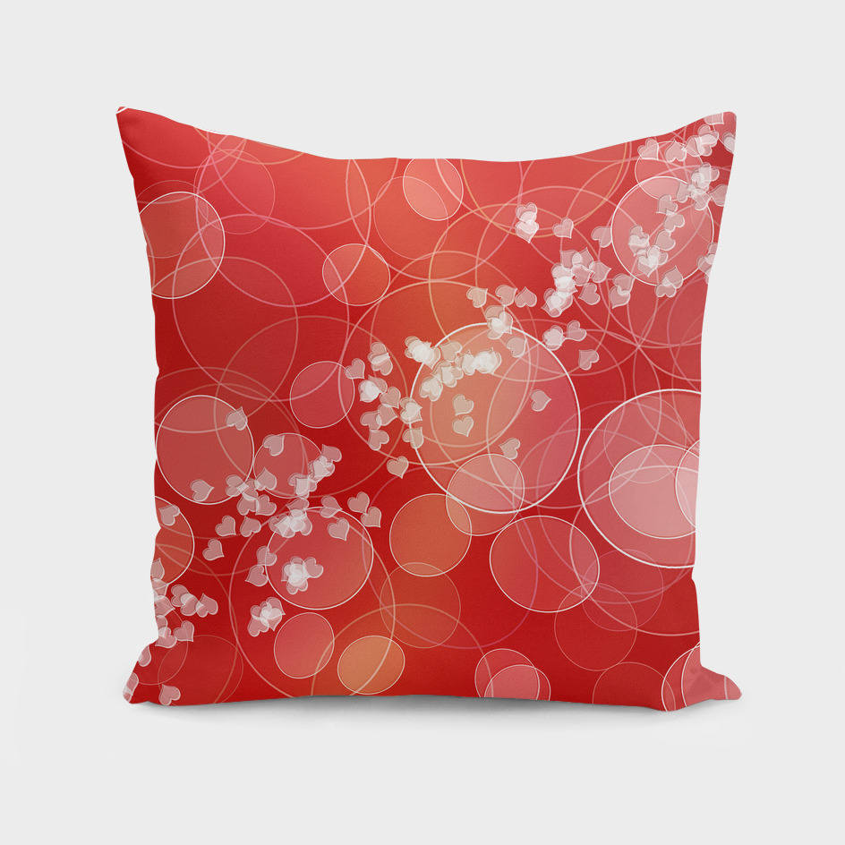 valentines bokeh style texture
