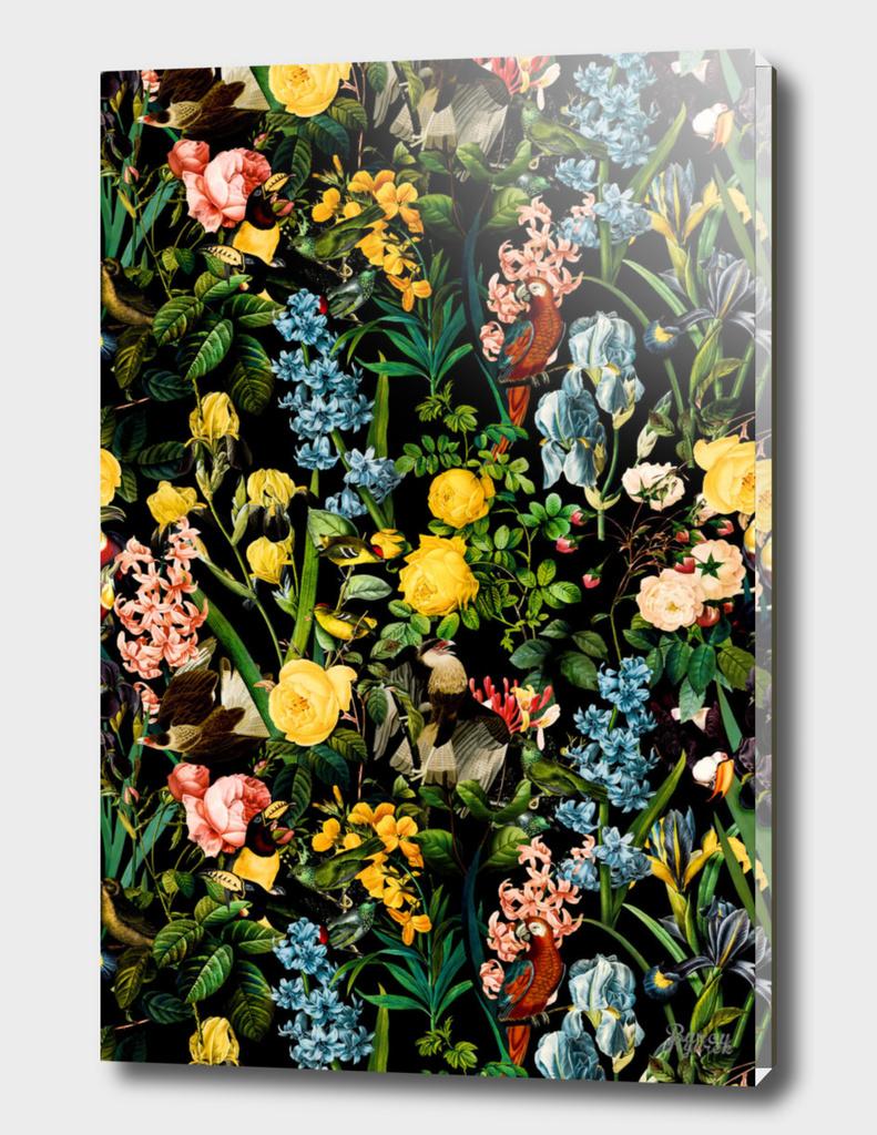 Floral and Birds V