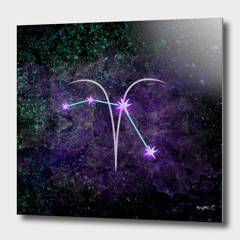 Aries Zodiac Constellation Design