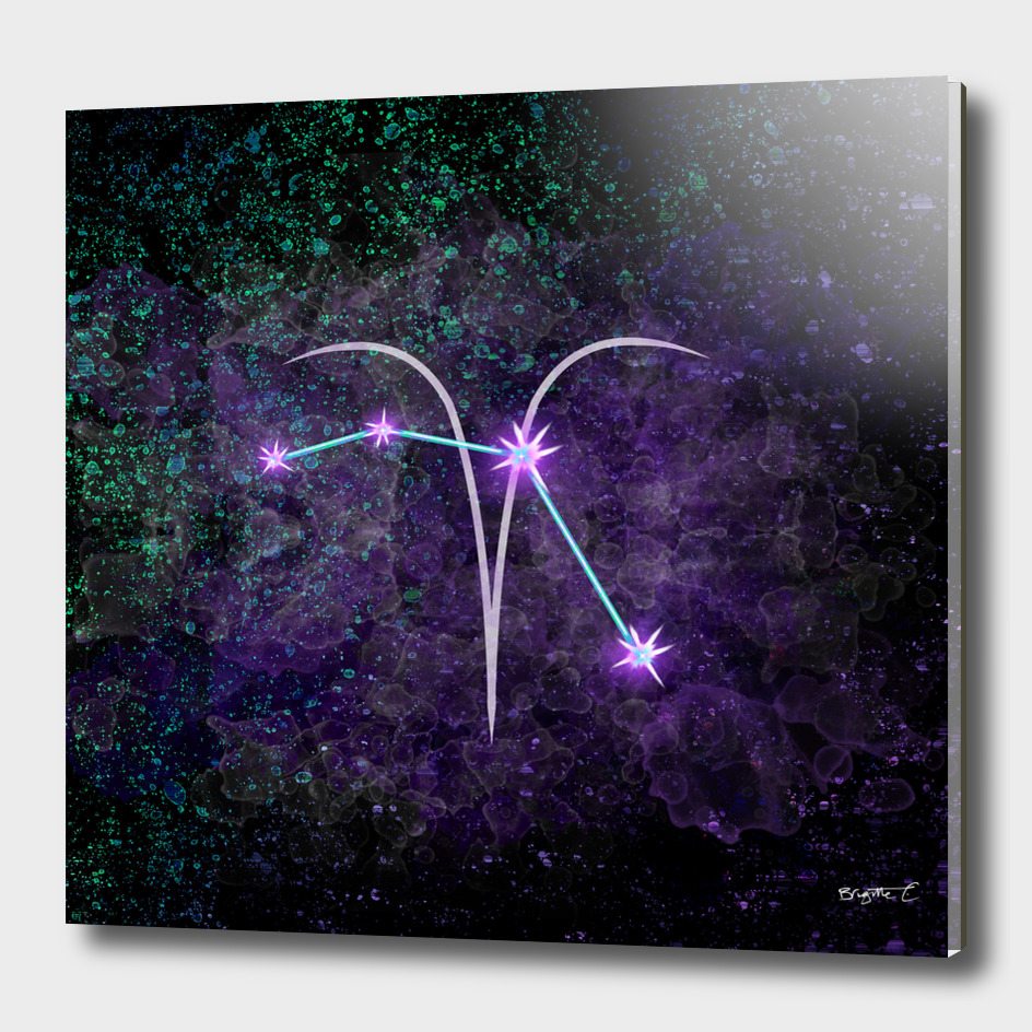 Aries Zodiac Constellation Design