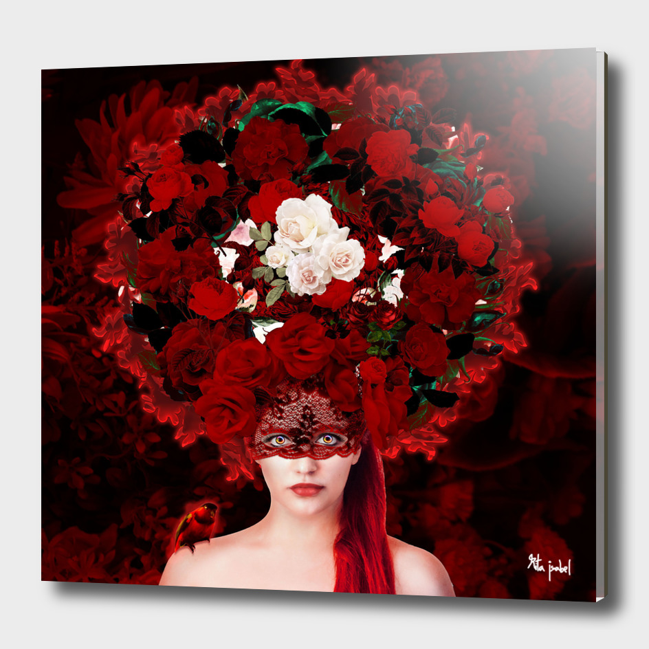 Crown of Red Roses