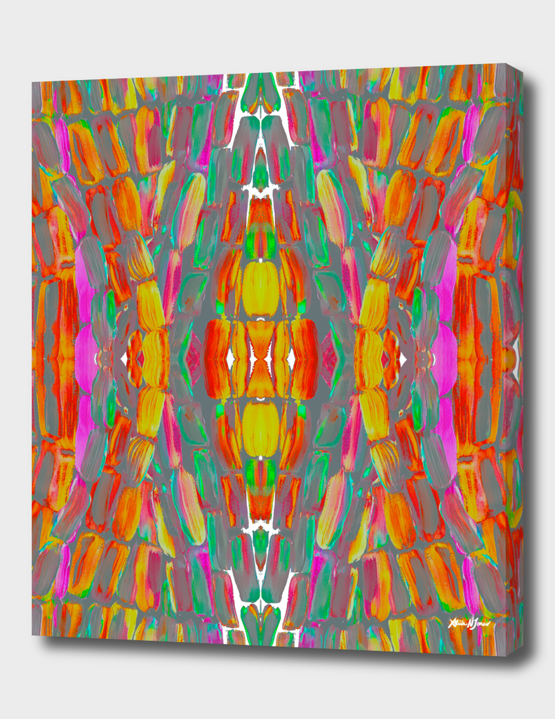 Dream Shade Colorful Sugarcane Pattern