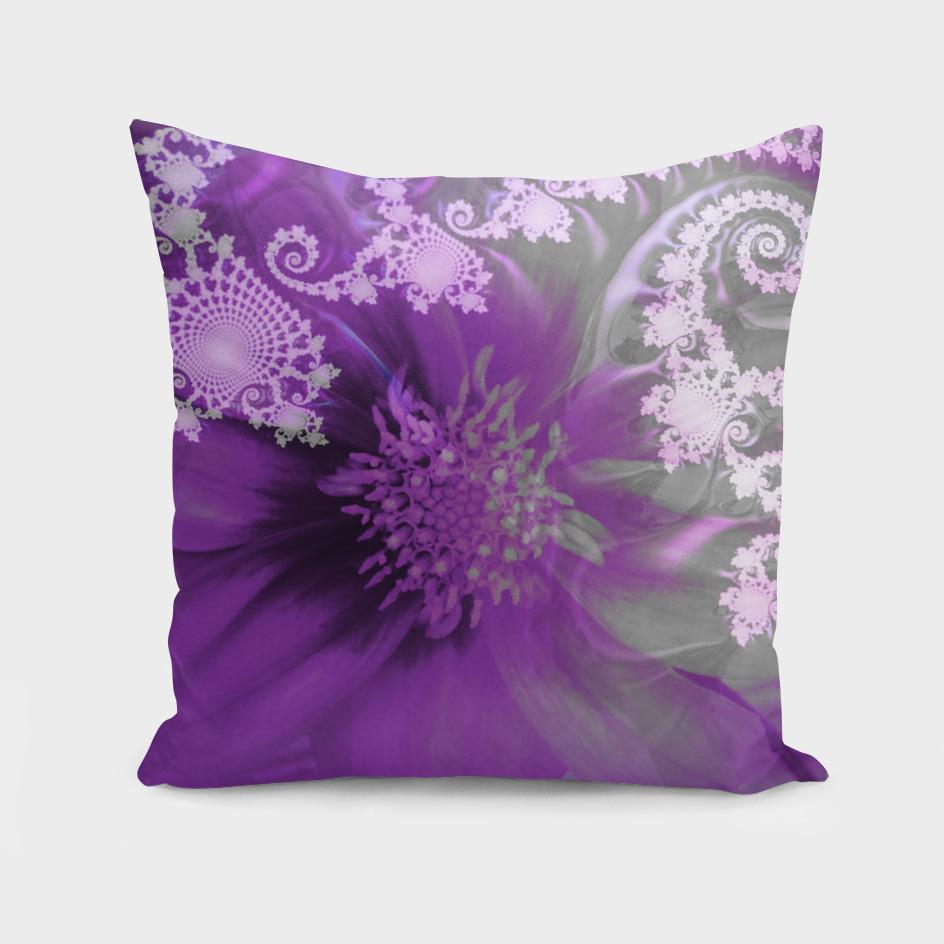 Purple Lacy Dahlia