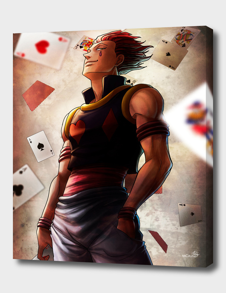 Hisoka (cards) Artwork
