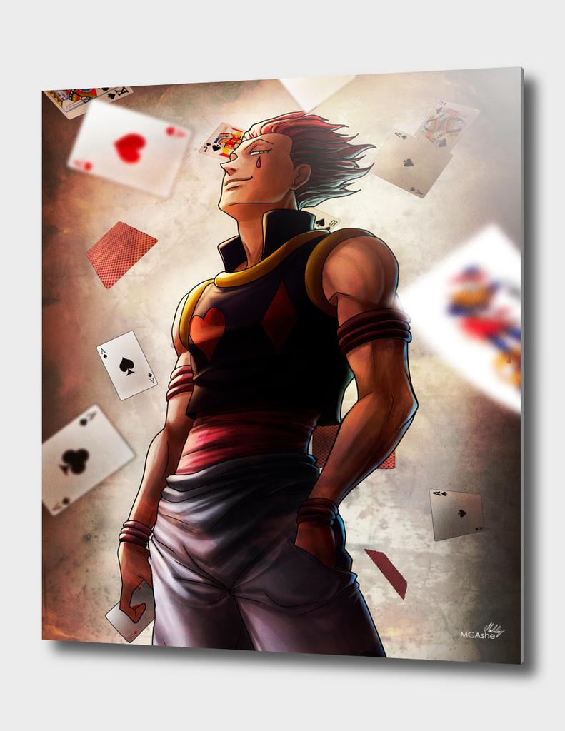 Hisoka (cards) Artwork