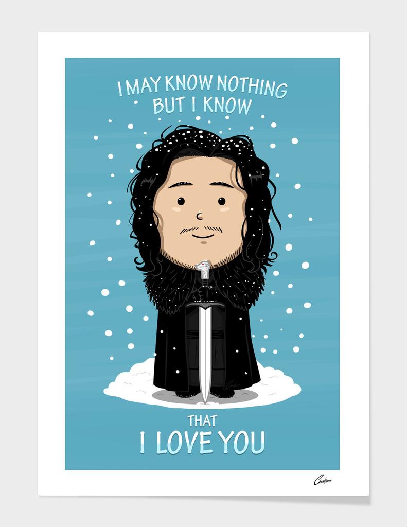 Jon Knows Love