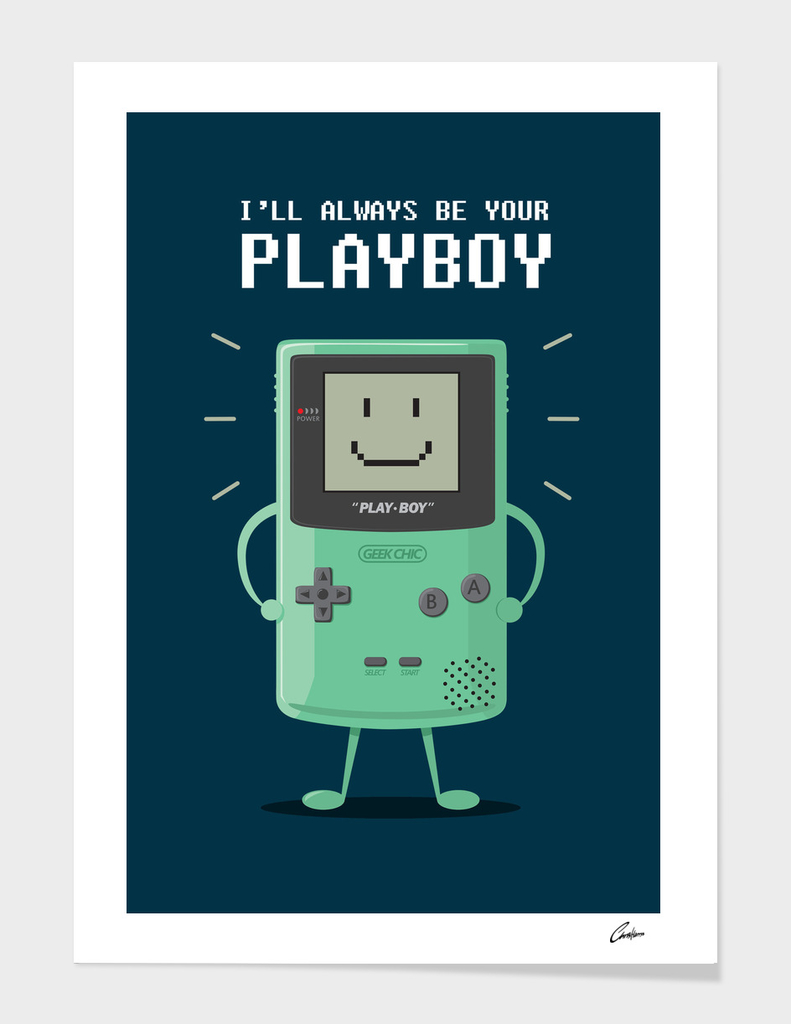 I'm your playboy