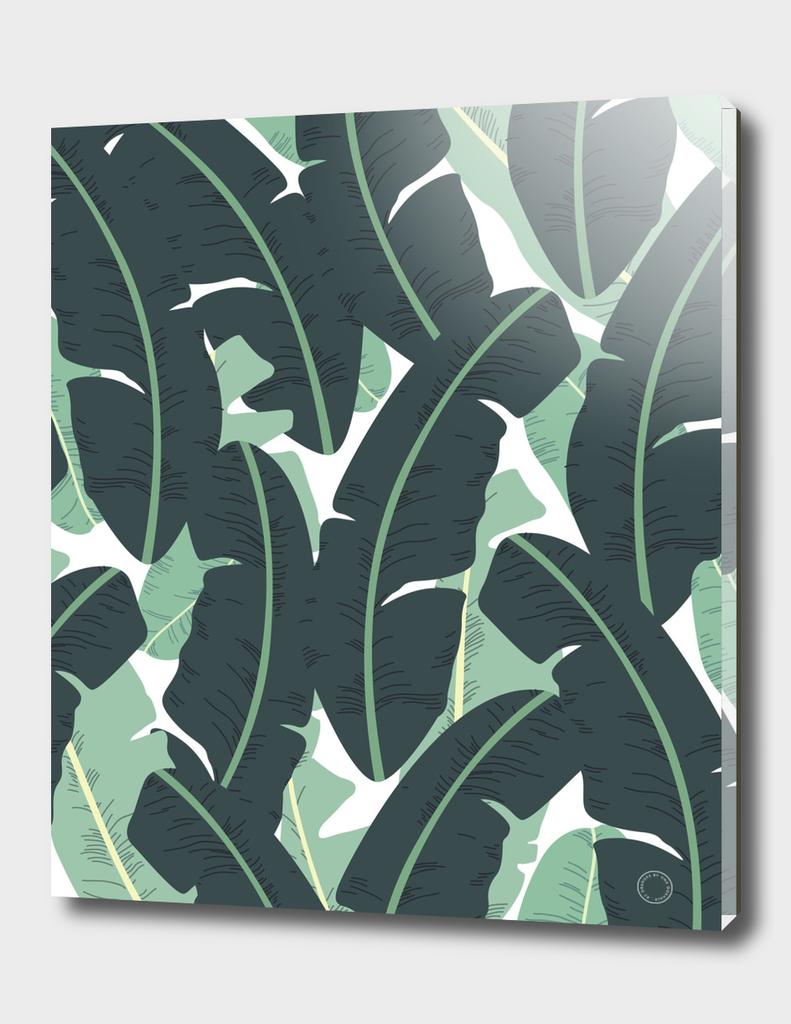 Banana Leaf Pattern
