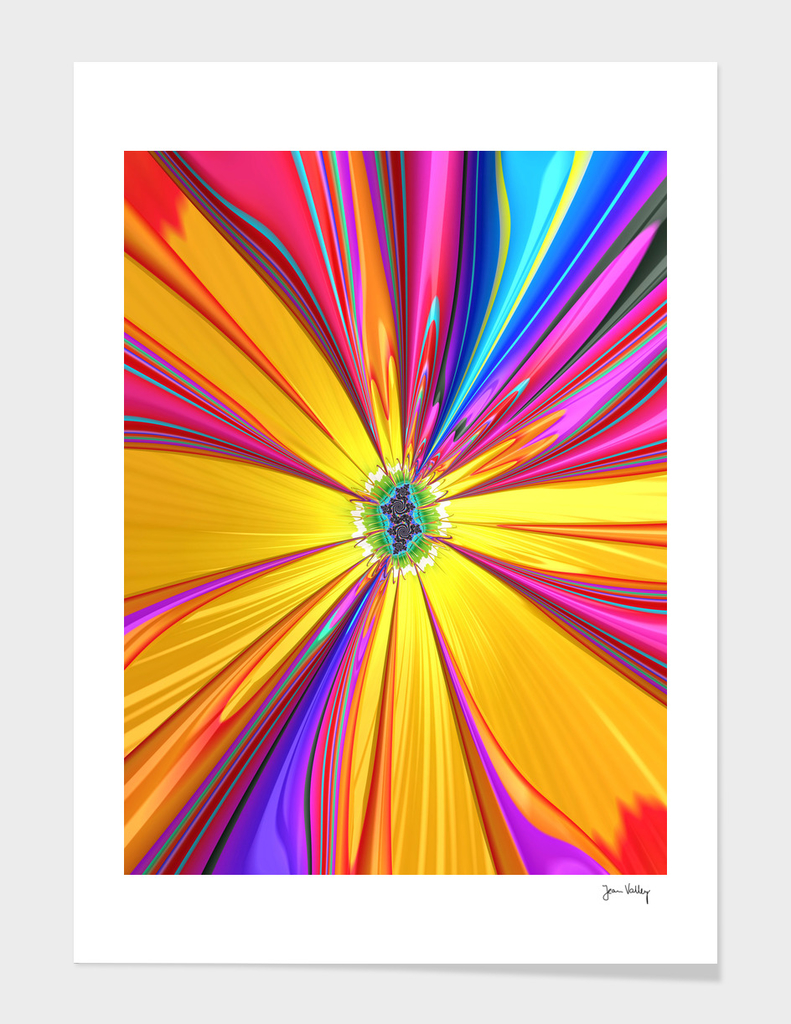 Colored X