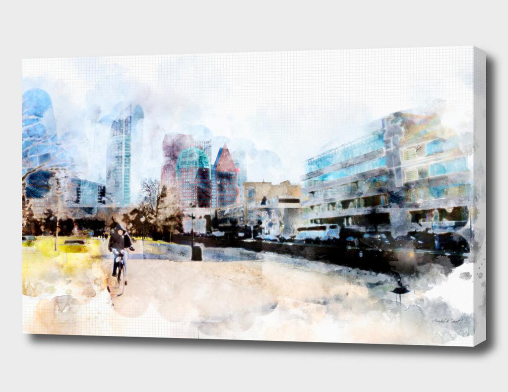 sketch the Hague