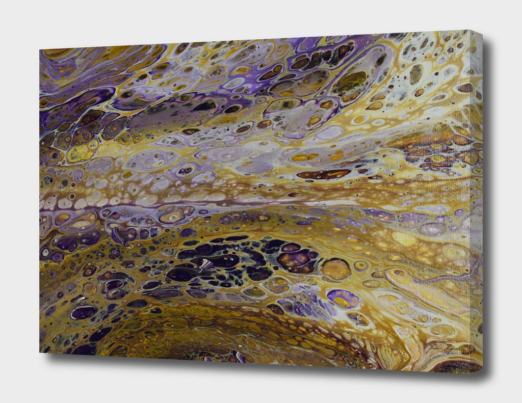 Acrylic Pour Painting - Fluid Art