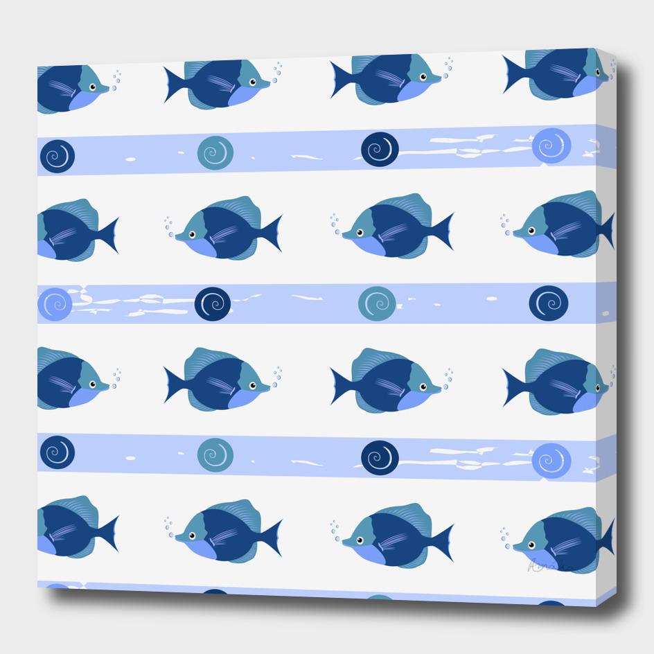 AFE Blue Fish