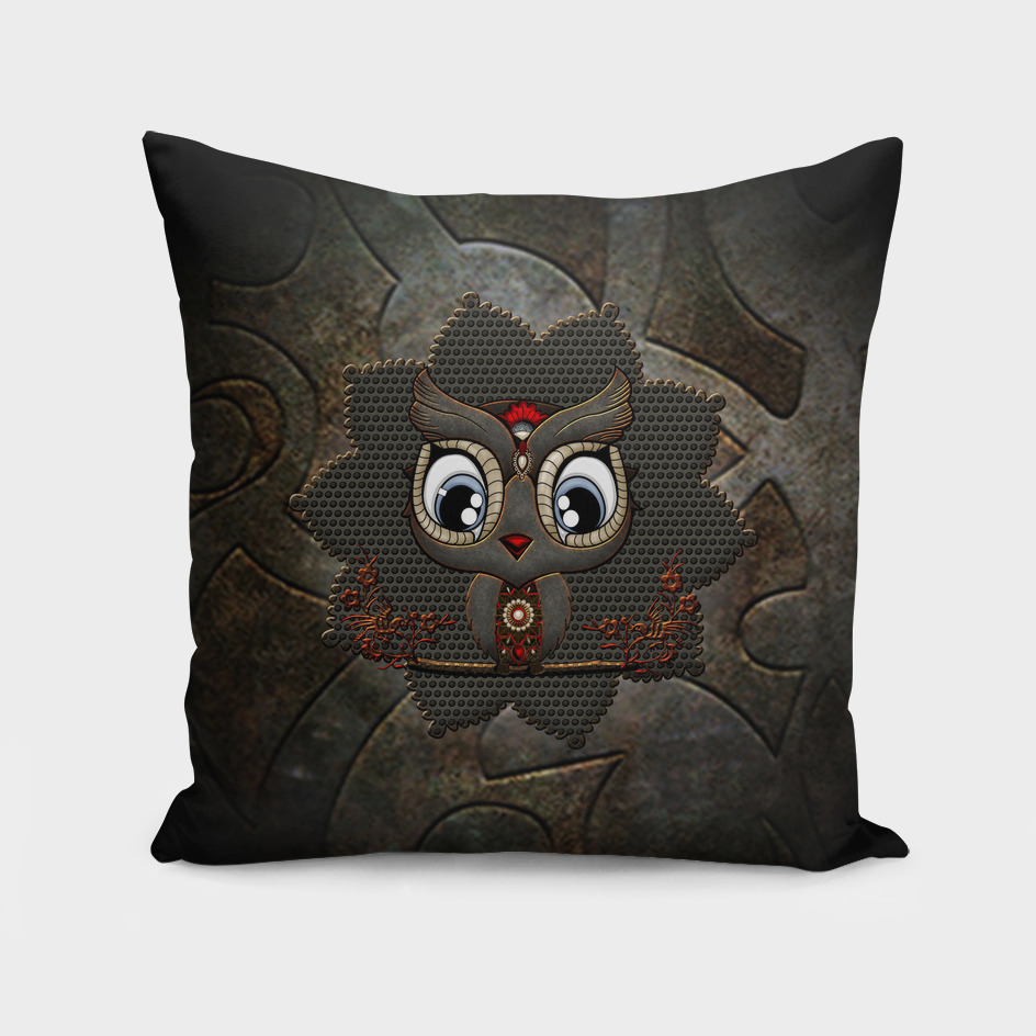 Awesome steampunk owl