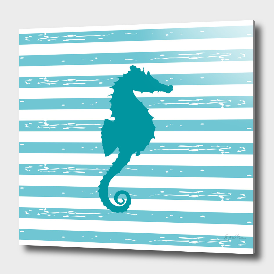 AFE Turquoise Seahorse