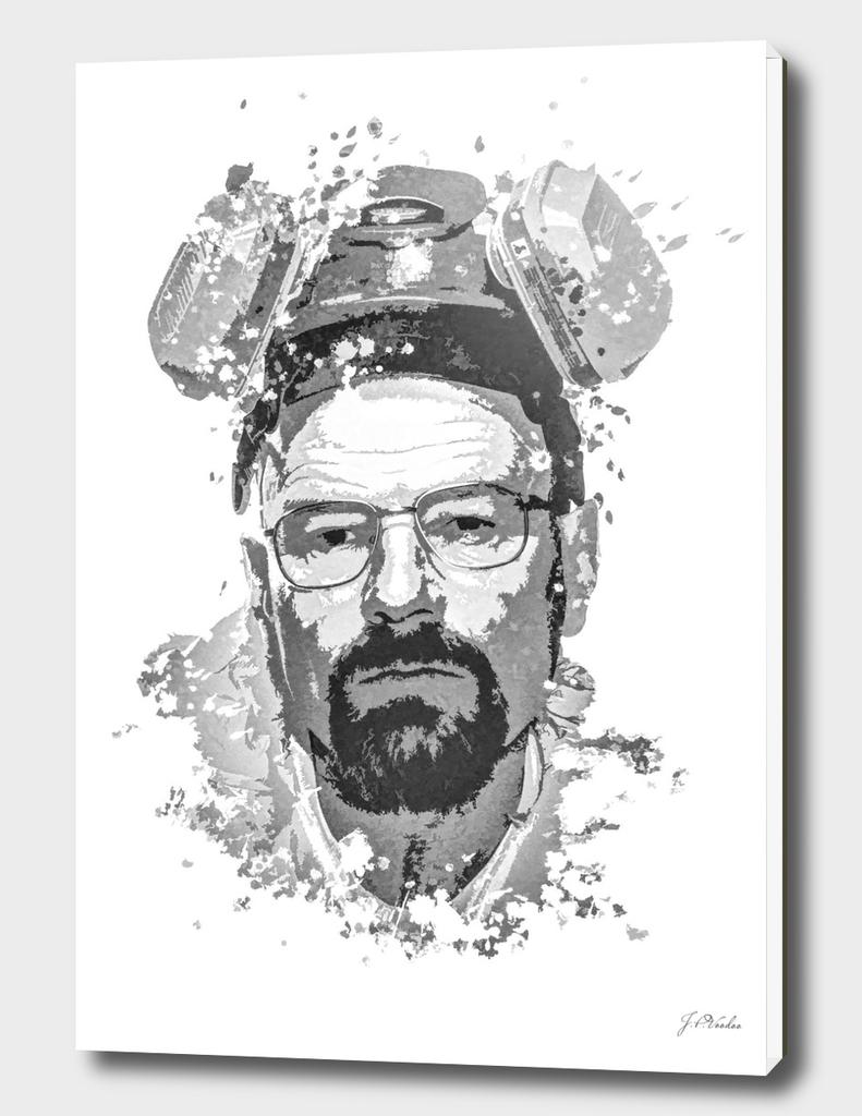 Breaking Bad, Walter White splatter painting
