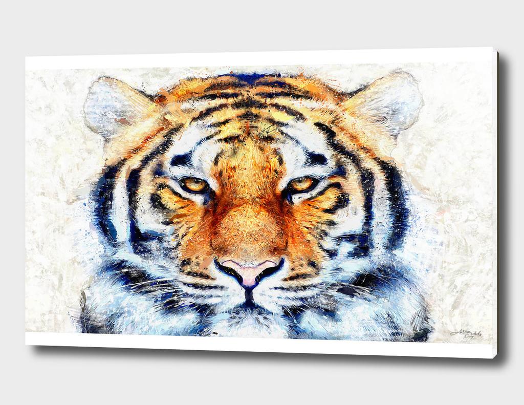 Artistic III  - Tiger Face / NE