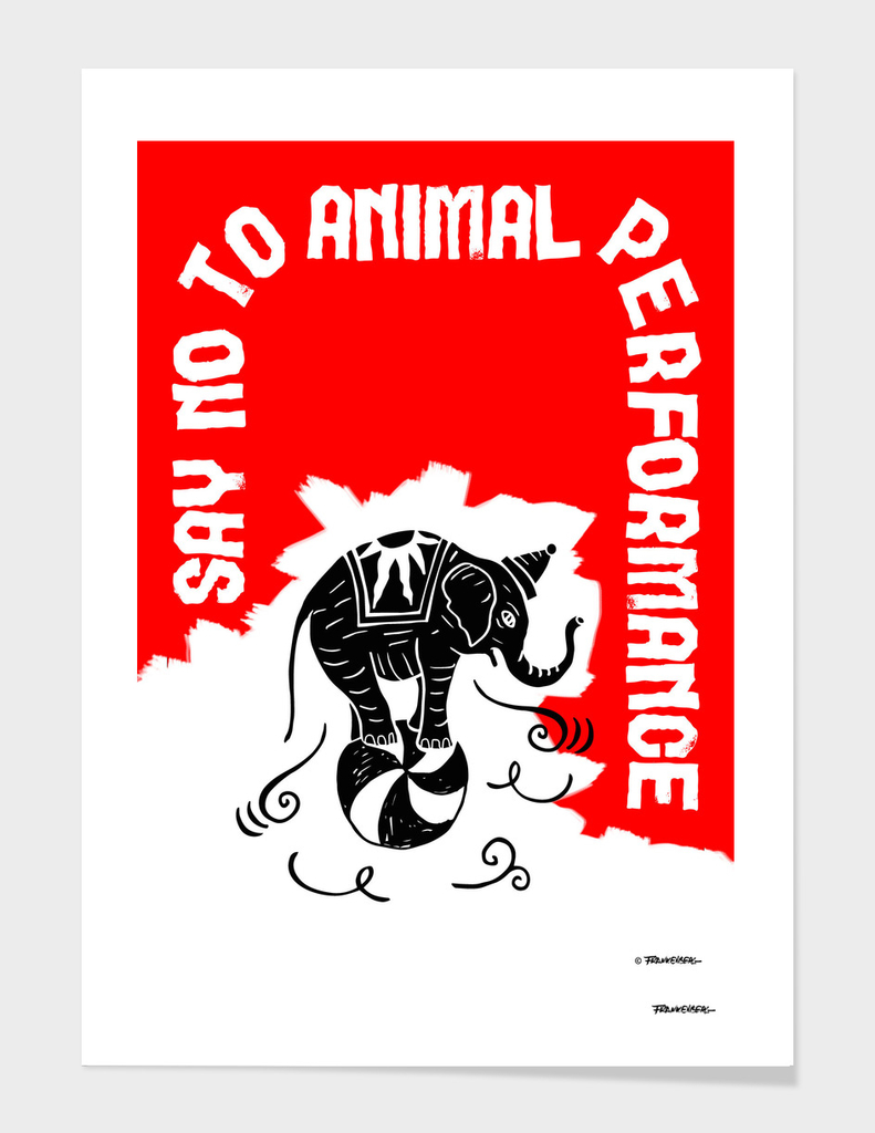 Say NO to Animal Performance – Elephant