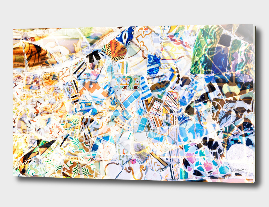 Mosaic of Barcelona