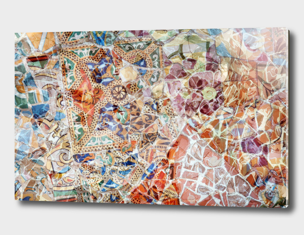 Mosaic of Barcelona IV