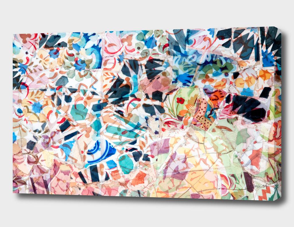 Mosaic of Barcelona VII