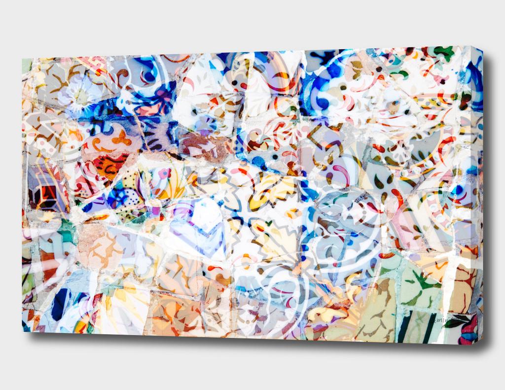 Mosaic of Barcelona VIII