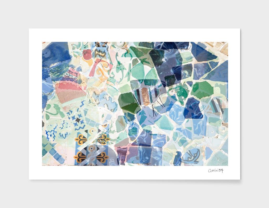 Mosaic of Barcelona X