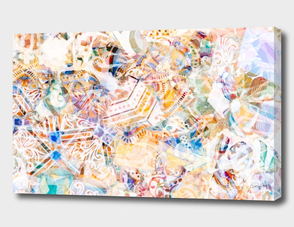 Mosaic of Barcelona XI