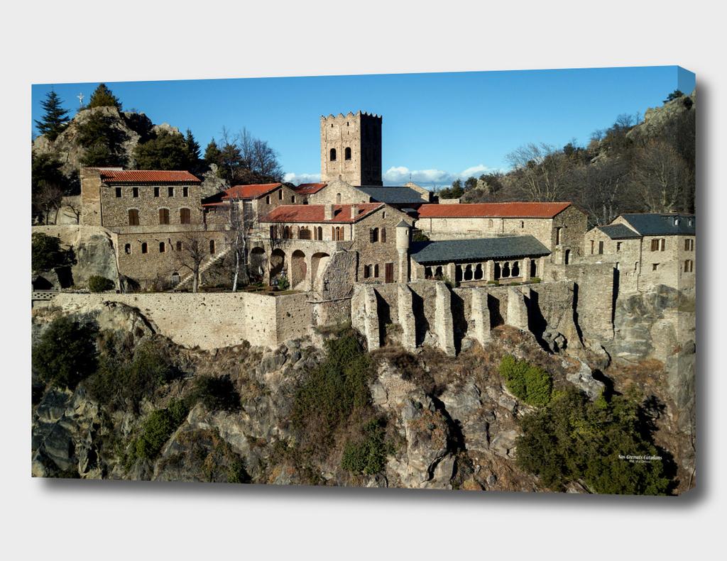 Abbaye Saint Martin du Canigó, XIe siècle / France