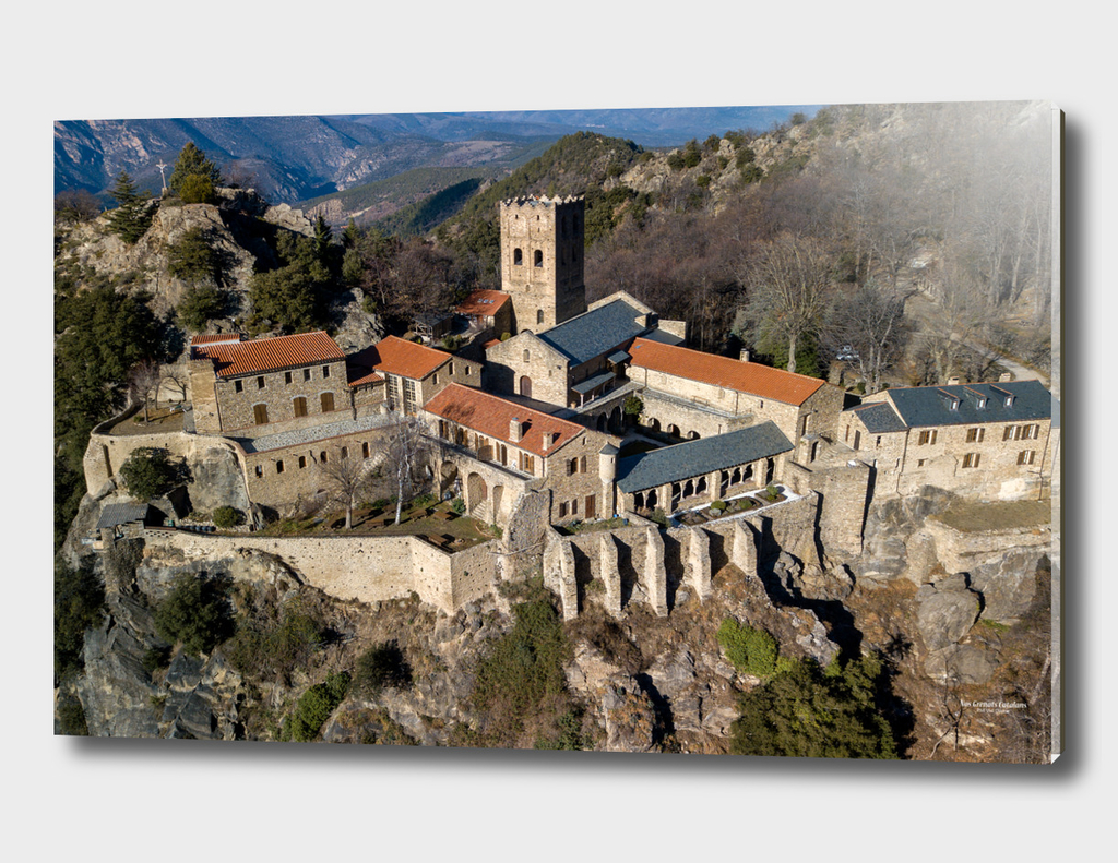 Abbaye de Saint Martin du Canigó, XIème siècle / France