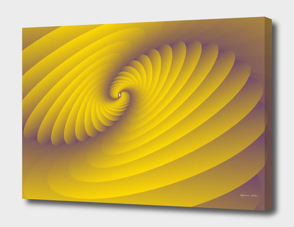 3d Abstract Spiral Modern