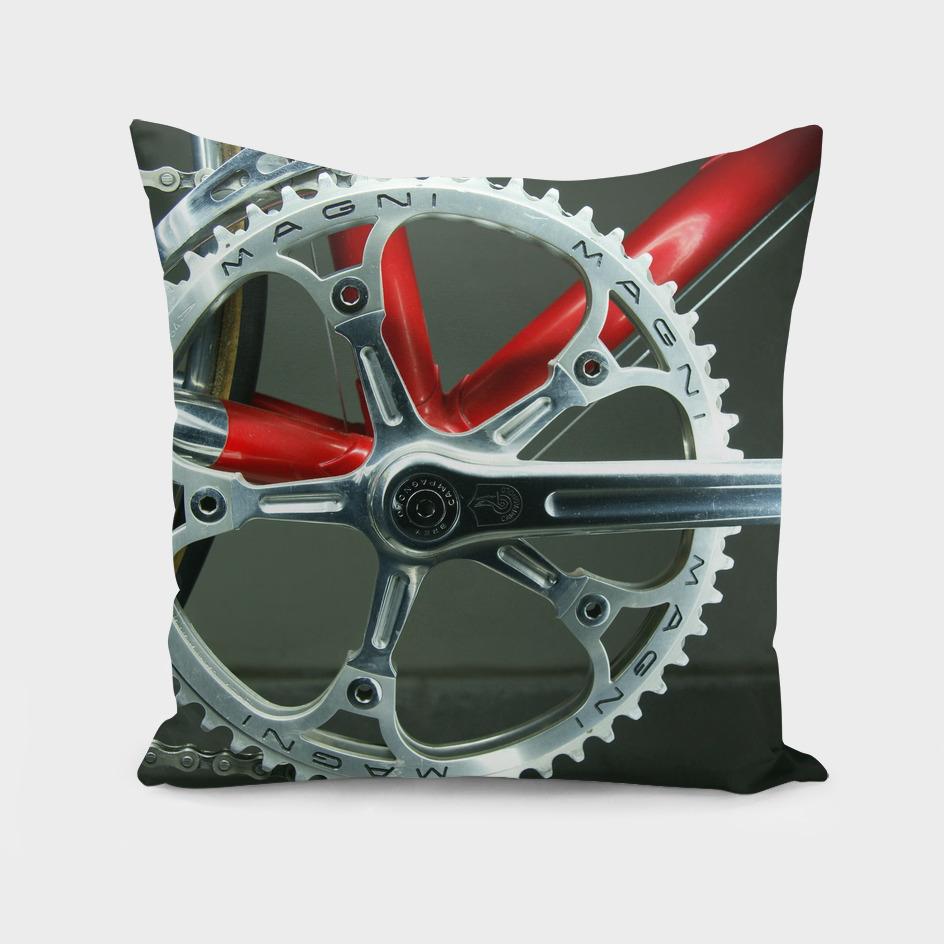 campagnolo drillium crankset super record magni pantographed