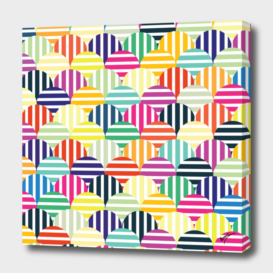 Colorful Circles IV