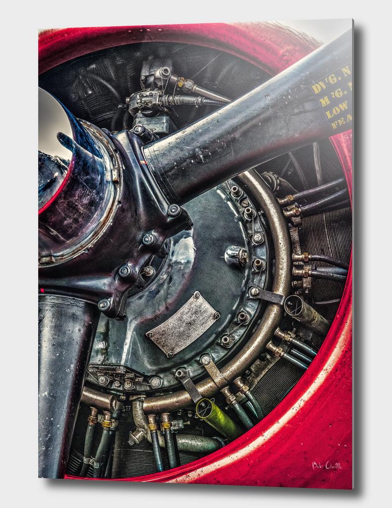 Cyclone Aircraft Engine