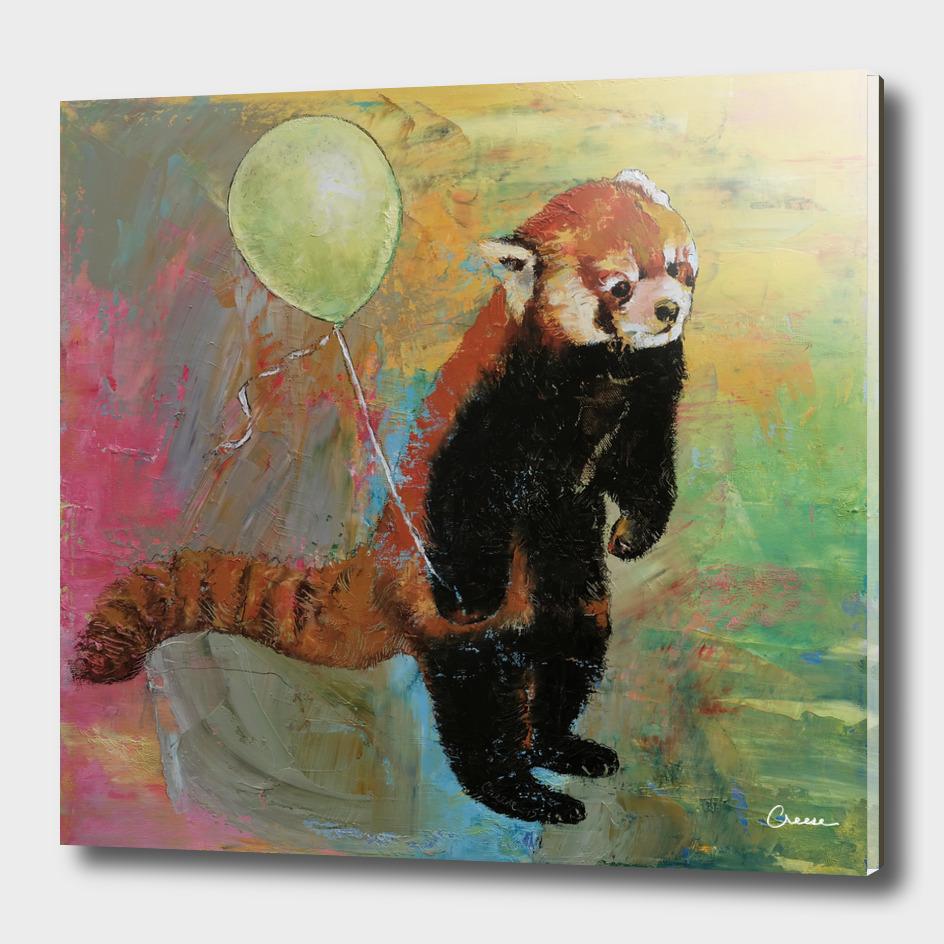 Red Panda Balloon