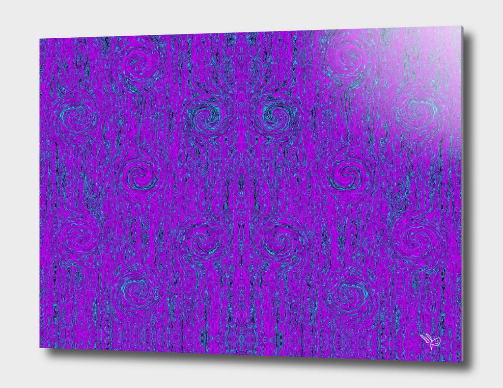 Violet Aqua Liquid Smoke