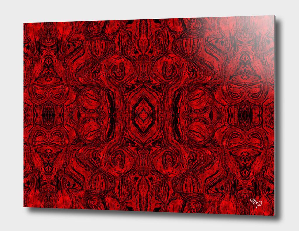 Red Smoky Glass