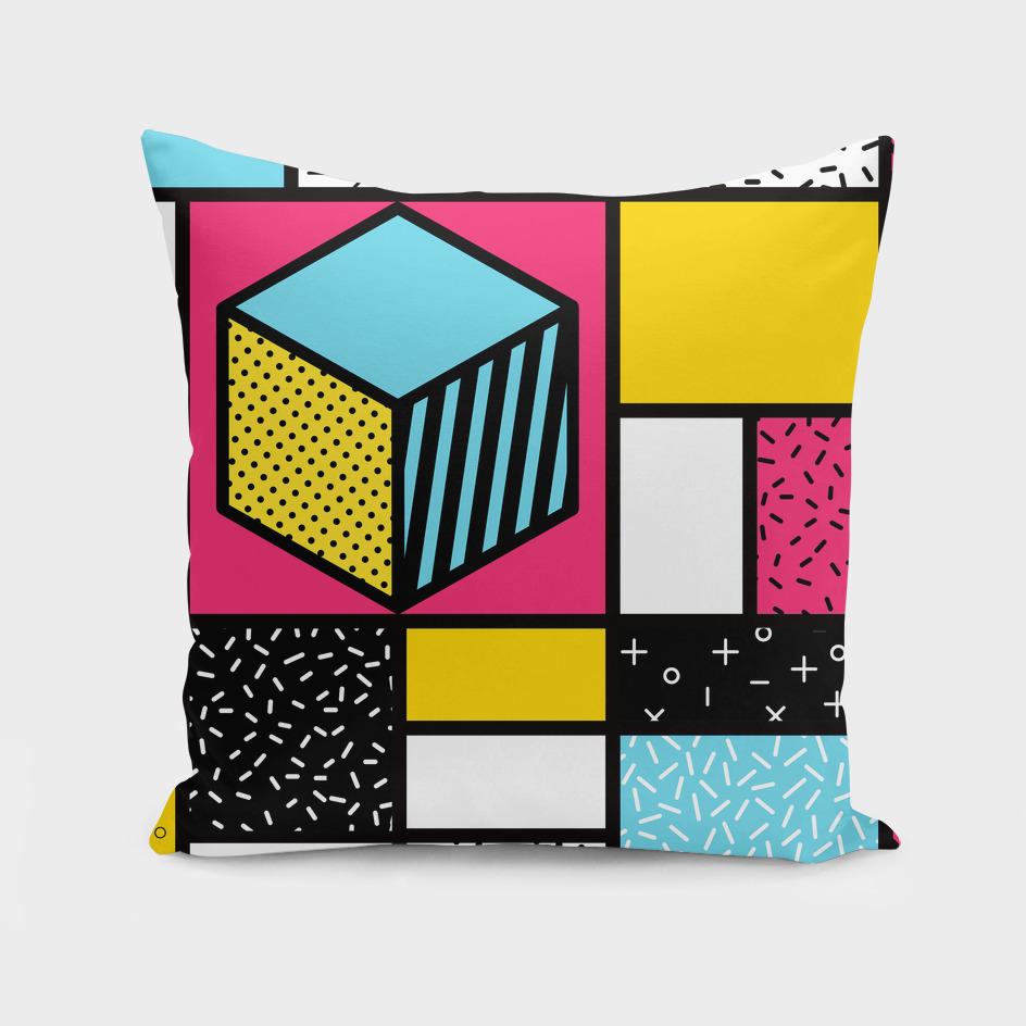 Mondrian in a Memphis Style III