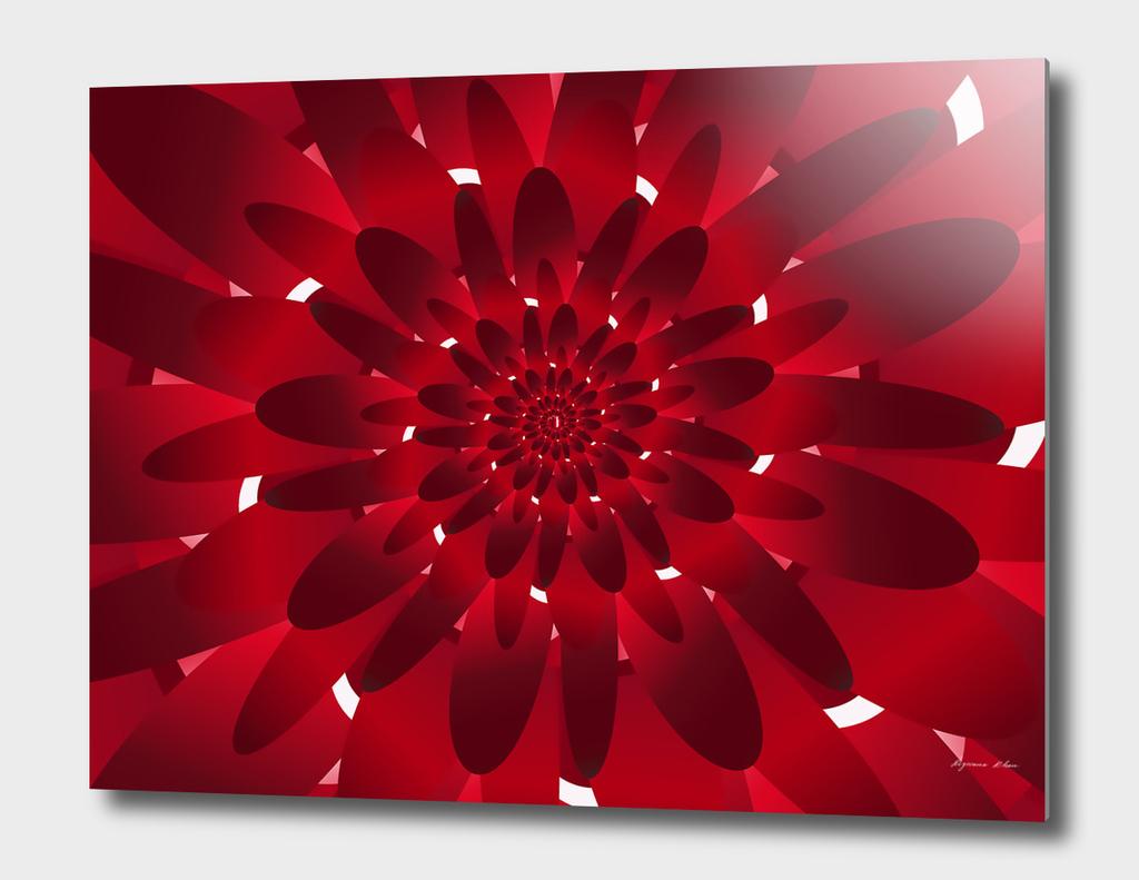Red spiral Flora