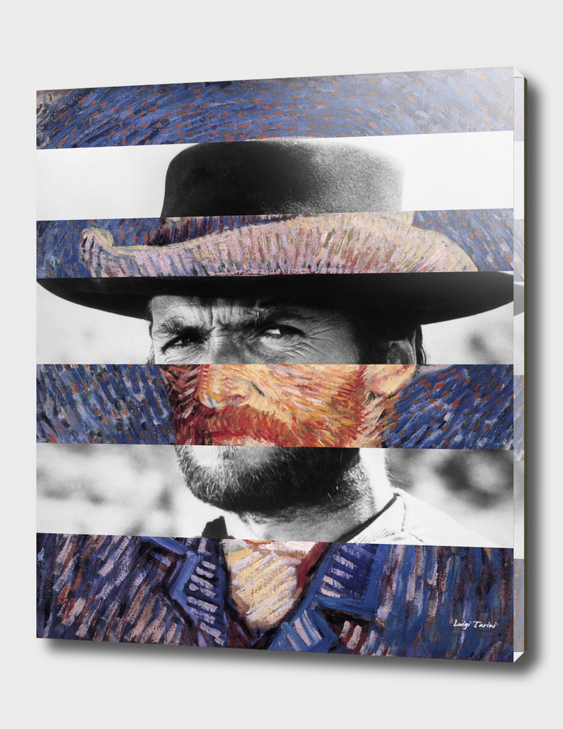 Van Gogh's Self Portrait & Clint Eastwood