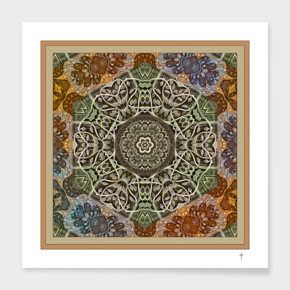 The Nwyfre Druid Mandala - Earth