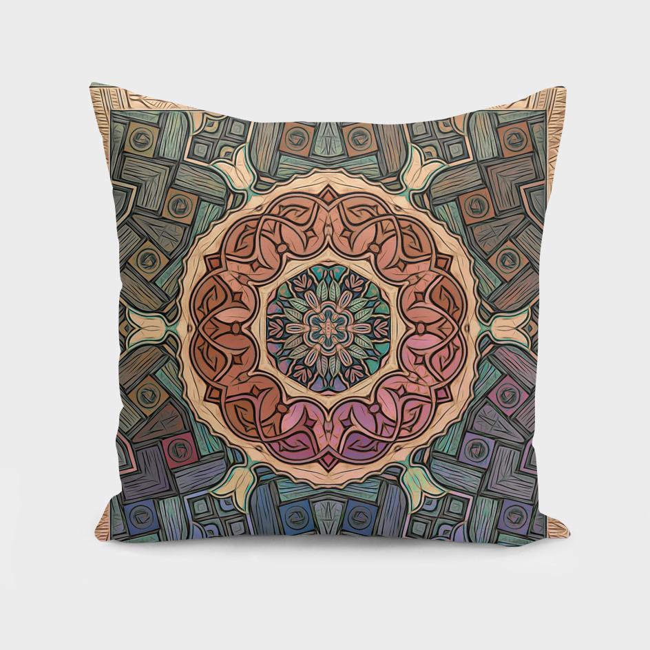 Mystic Sufi Mandala - The Desert Rose