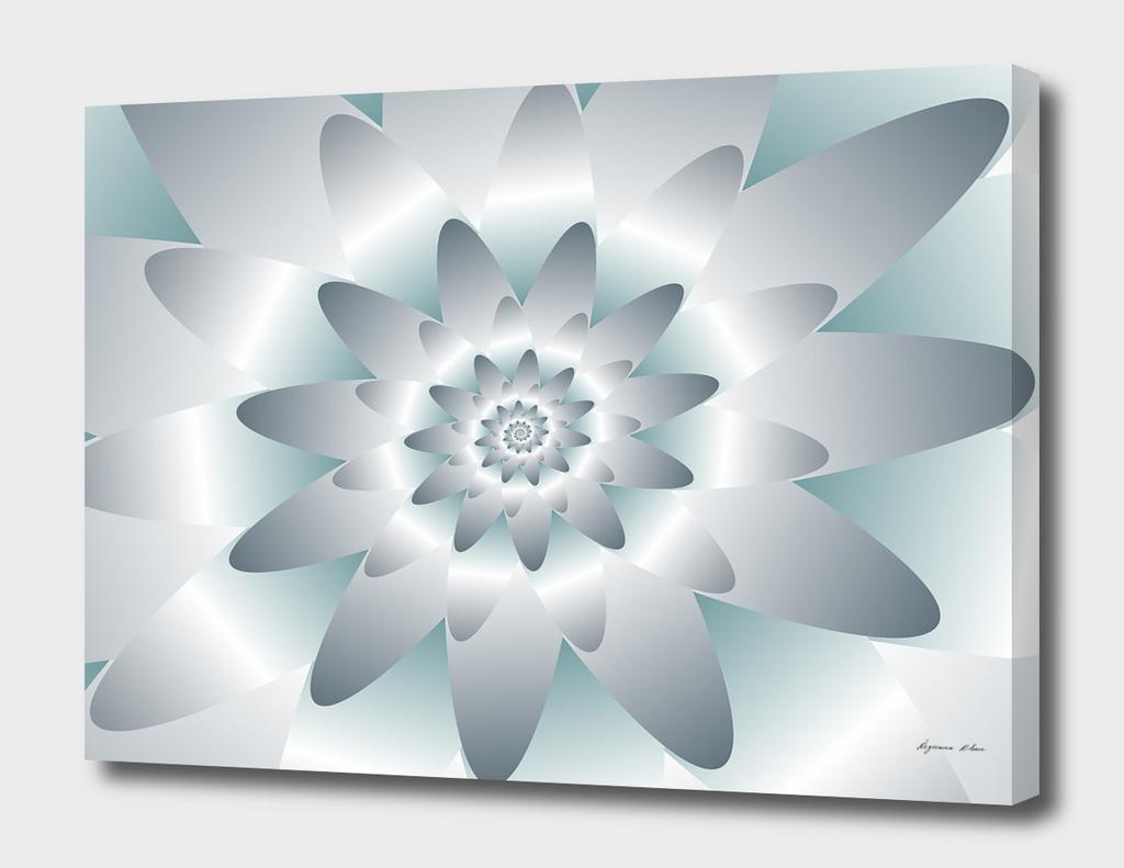 Swirl Flower Pattern