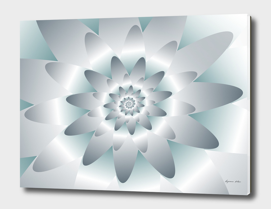 Swirl Flower Pattern