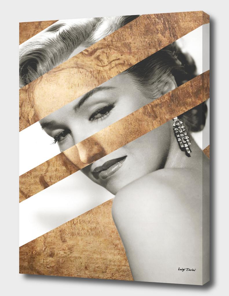 Leonardo's Head of a Woman & Marylin Monroe