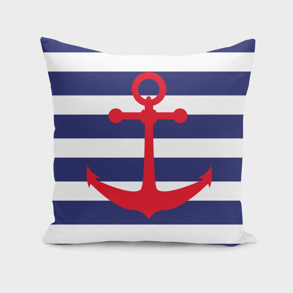 AFE Nautical Red Ship Anchor