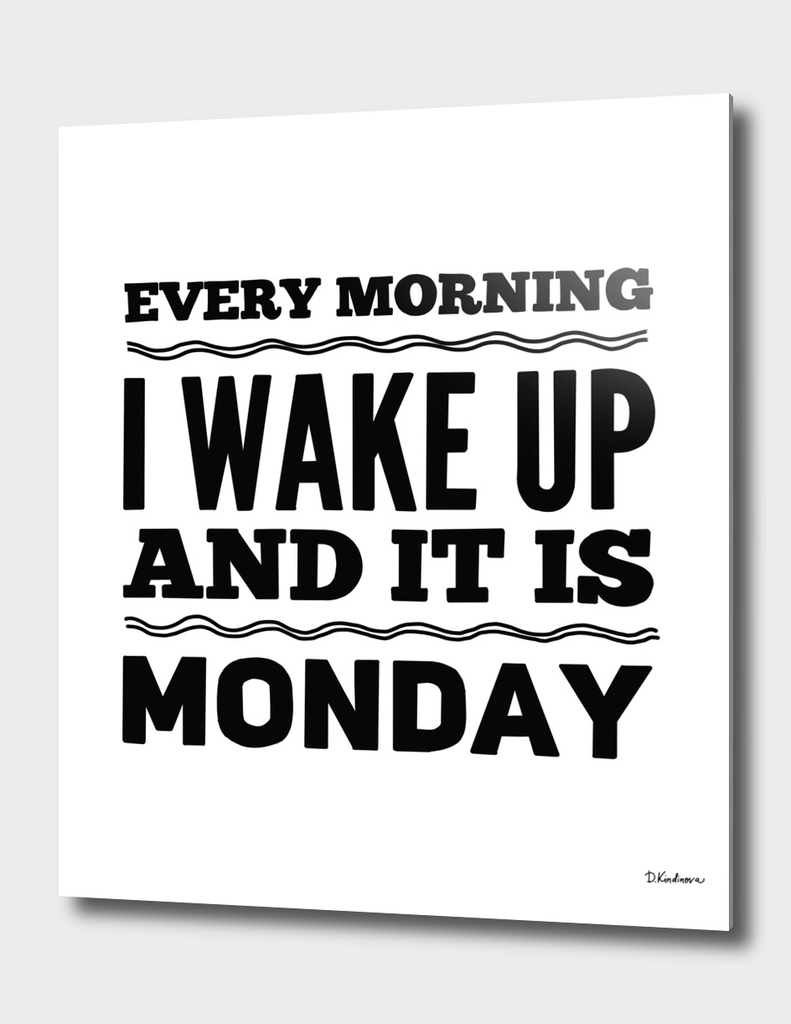 Monday print