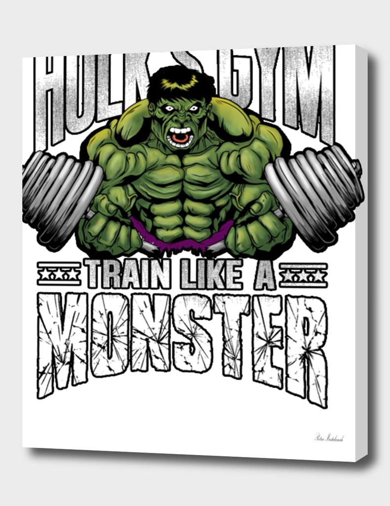 Hulk Train Like a Monster