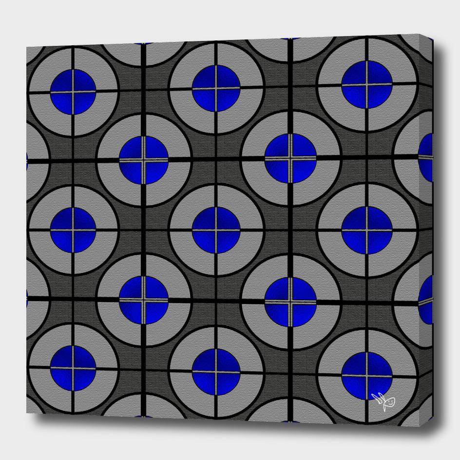 Textured Discs Blue